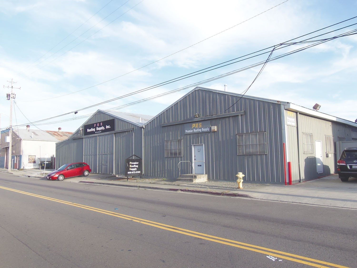 Brendan P. Bartholomew/Special to The S.F. ExaminerSouth San Francisco's City Council is expected to consider a long-term agreement later this month to allow FlightCar to develop space at a former roofing supply warehouse at 323 South Canal St.