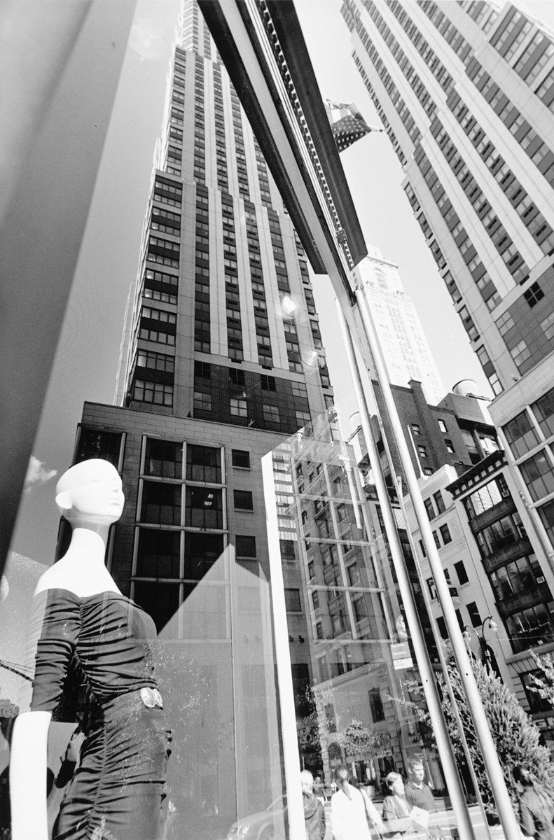 "Courtesy photoRecent images by master photographer Lee Friedlander are on view in ""Mannequin"" at Fraenkel Gallery. Friedlander got his start in the 1950s."