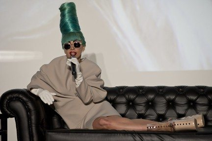 Getty Images File PhotoLady Gaga's former assistant claims that the diva forced her to sleep in the same bed when she was lonely on tour.