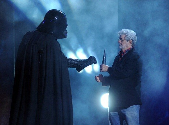 Getty ImagesGeorge Lucas talks about the death of Hollywood