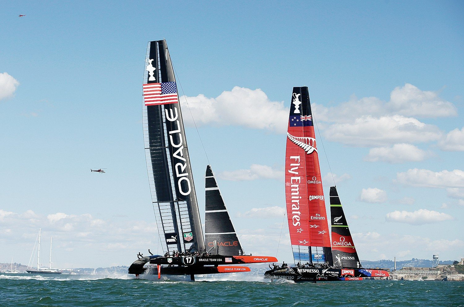 Ezra Shaw/Getty Images file photoAs memories of Oracle Team USA's victory at the America's Cup