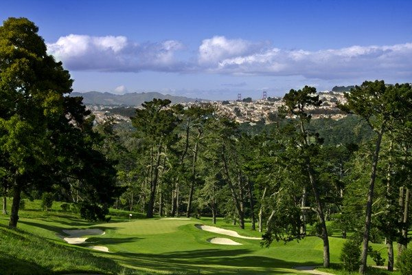 John Mummert/©USGAThe third hole at the Olympic Club will likely play as the hardest par 3 in the U.S. Open.