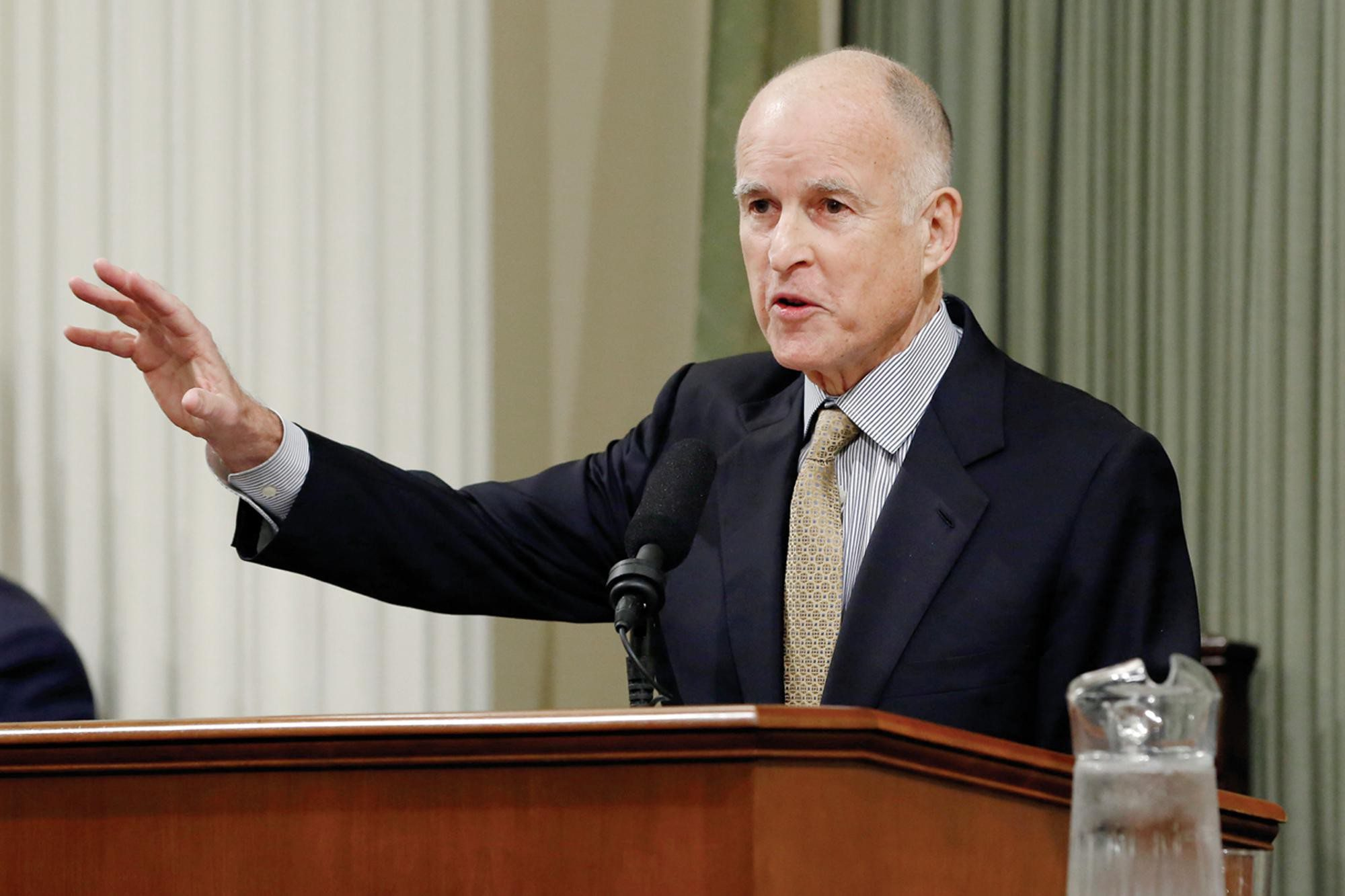 AP File PhotoGov. Jerry Brown wants to give a pile of money to the university systems with no performance expectations.