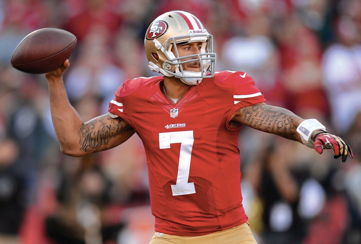 Thearon W. Henderson/Getty ImagesQuarterback Colin Kaepernick led the Niners to a big win Sunday