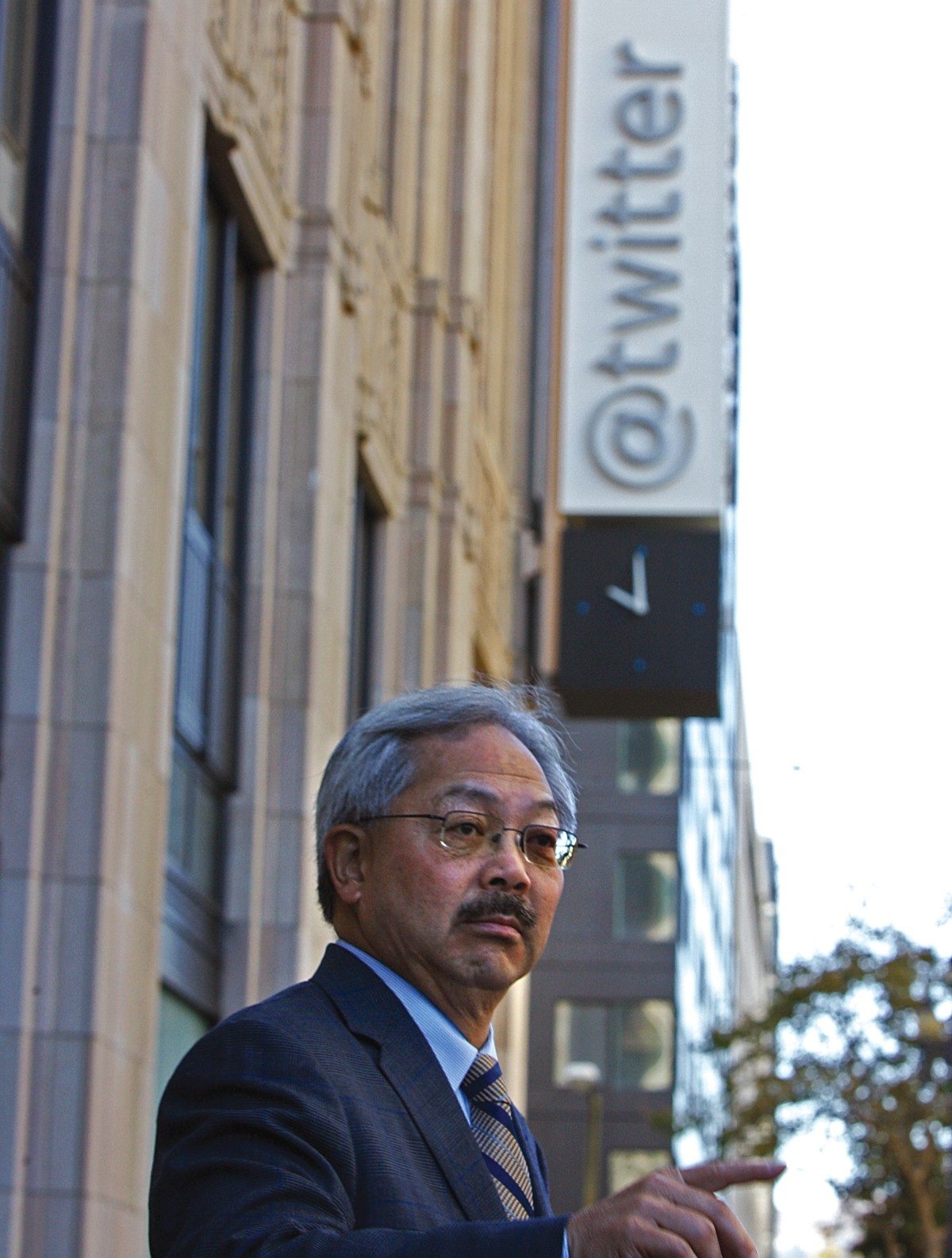 Mike Koozmin/2013 S.F. Examiner file photoMayor Ed Lee implemented the mid-Market tax break enjoyed by companies such as Twitter. Now