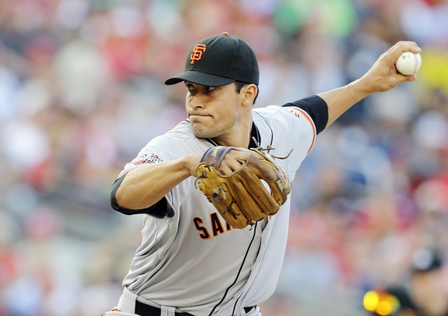 alex brandon/AP file photoAfter the Giants announced the signing of veteran Tim Hudson