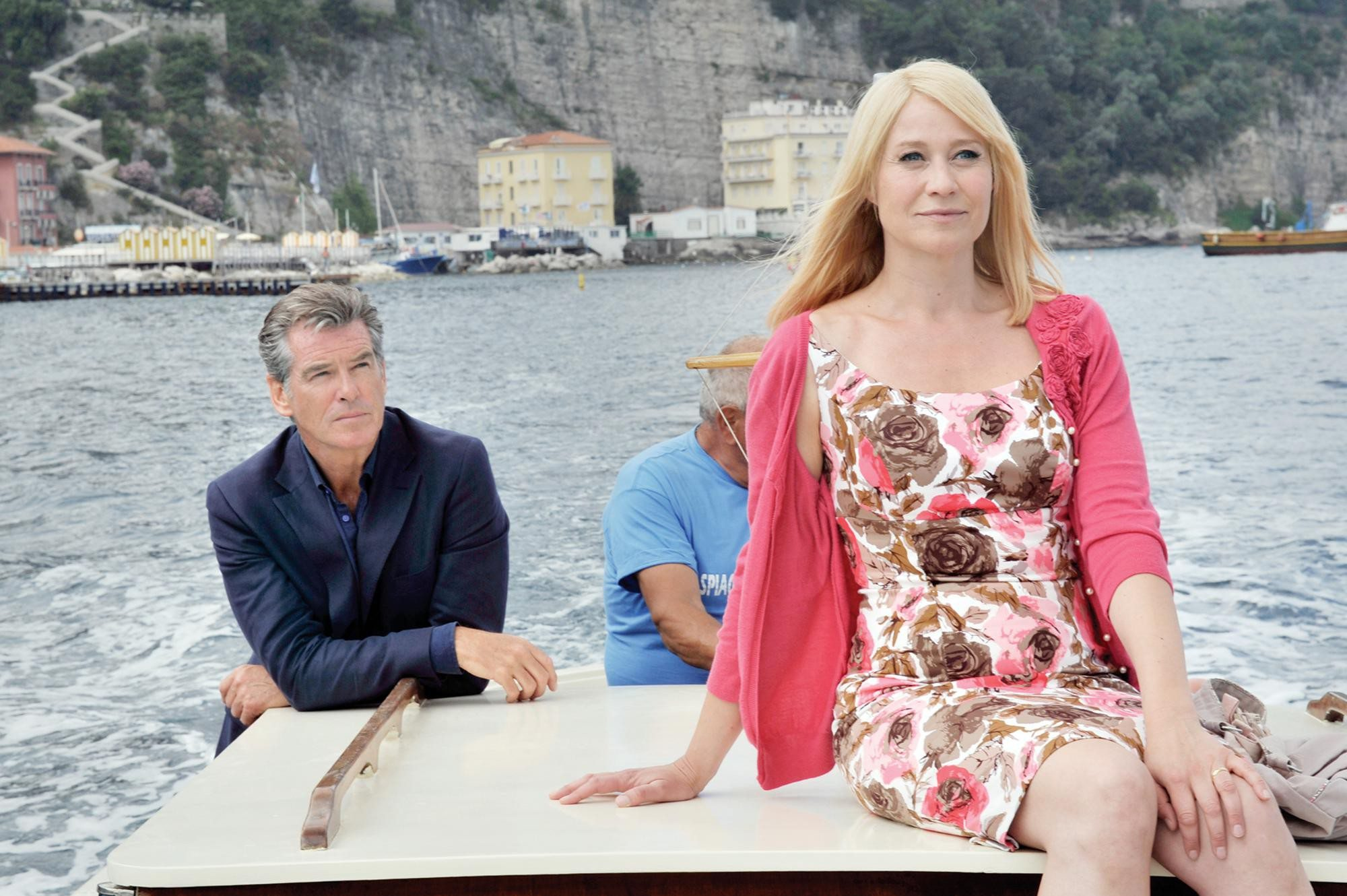 "Courtesy PhotoPierce Brosnan and Trine Dyrholm star in Susanne Bier's light and engaging rom-com ""Love Is All You Need."""
