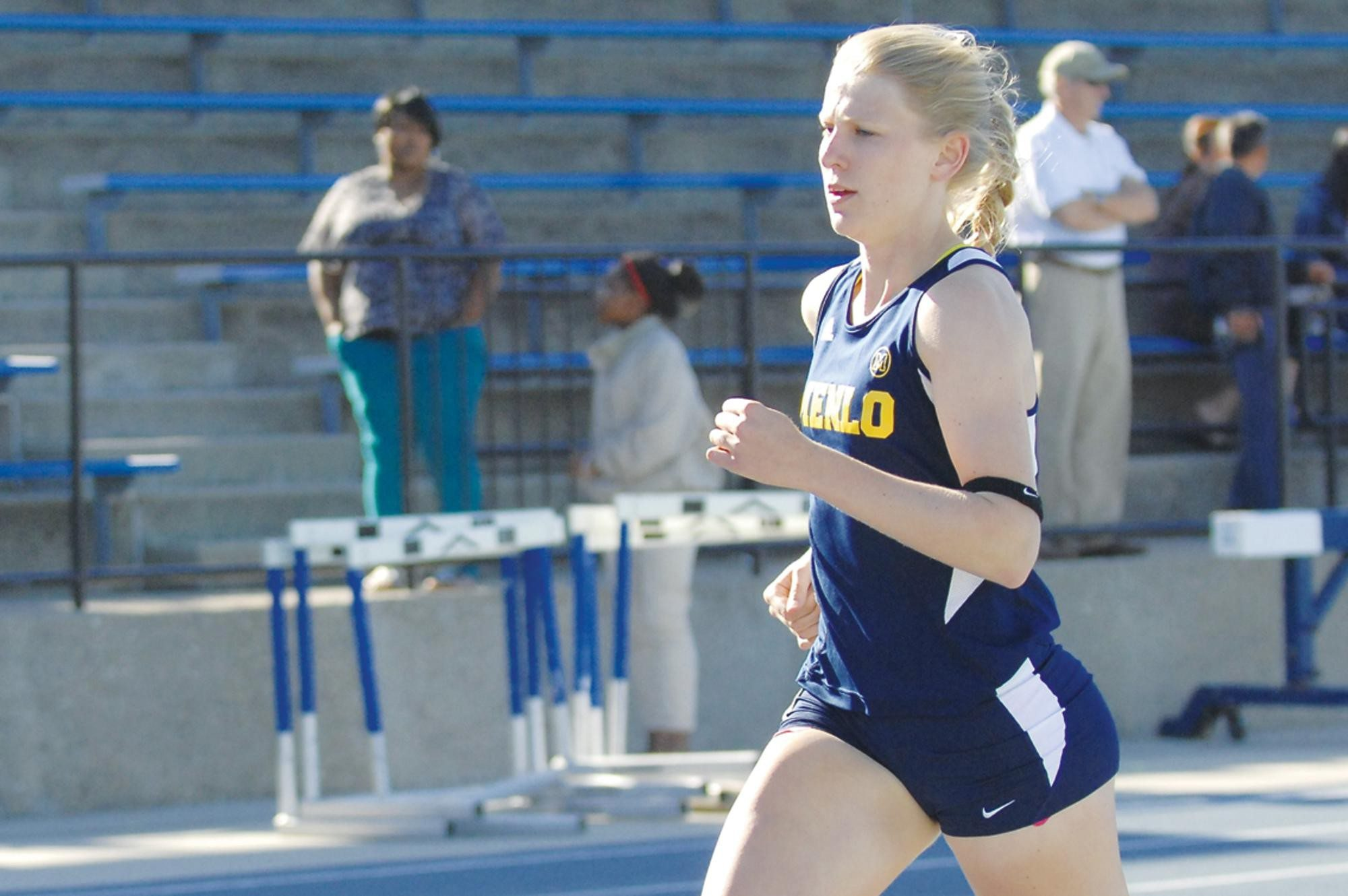 Courtesy Menlo SchoolMenlo's Madeline Price set a personal record of 54.78 seconds in the 400 at the CCS Championships on Friday.