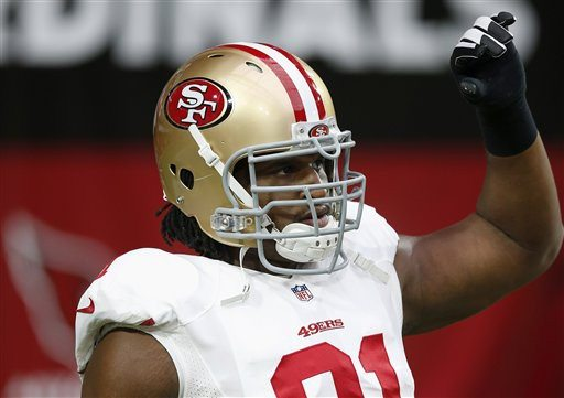 Ross D. Franklin/AP file photoThe domestic abuse case regarding the 49ers' Ray McDonald has been turned over to the Santa Clara County District Attorney's Office.