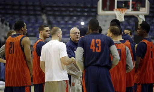 Pablo Martinez Monsivais/APSyracuse coach Jim Boeheim joked he can't remember his team's loss in the last game of the season.