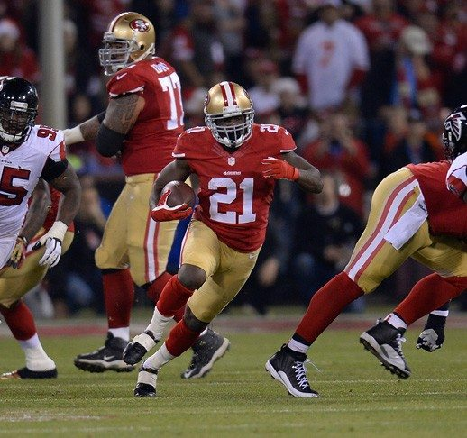 Thearon W. Henderson/Getty Images file photoFrank Gore (21) and the Niners have endured increased pressure and adversity to return to the playoffs this season.