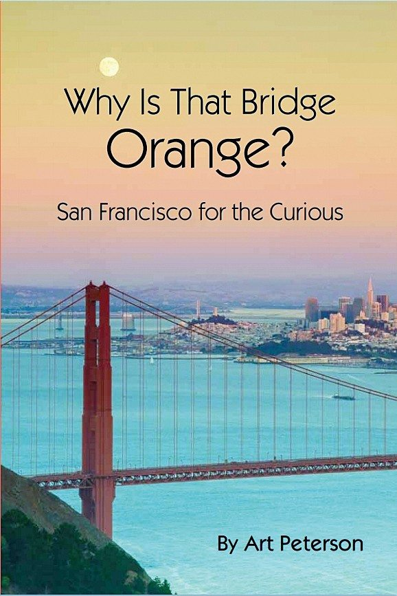 """COurtesy photoRetired teacher Art Peterson is the author of """"Why is That Bridge Orange?"""