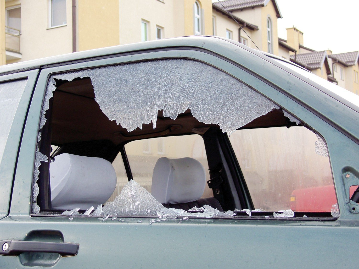 Police reportedly found a window-punch tool on a San Mateo car burglary suspect.