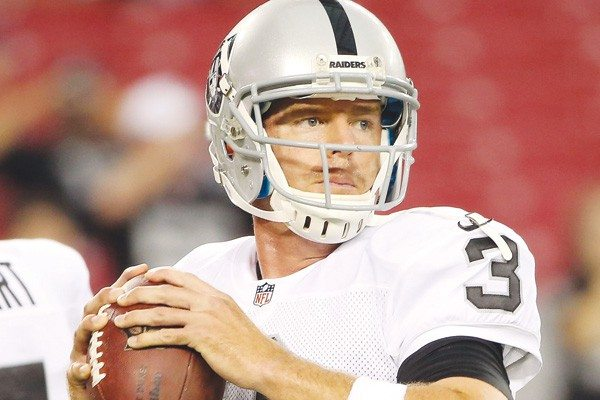 Getty Images File PhotoStarting anew: Quarterback Carson Palmer is set to begin his first full season with the Raiders tonight.
