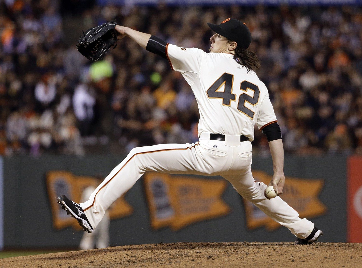 Marcio Jose Sanchez/APThe Giants' Tim Lincecum threw five innings and allowed three earned runs in Wednesday's 4-2 loss to the Rockies.