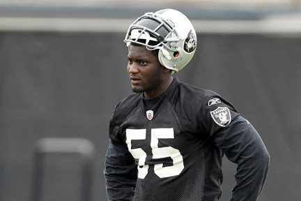 Getty Images File PhotoRolando McClain was given permission to seek a trade by the Raiders.
