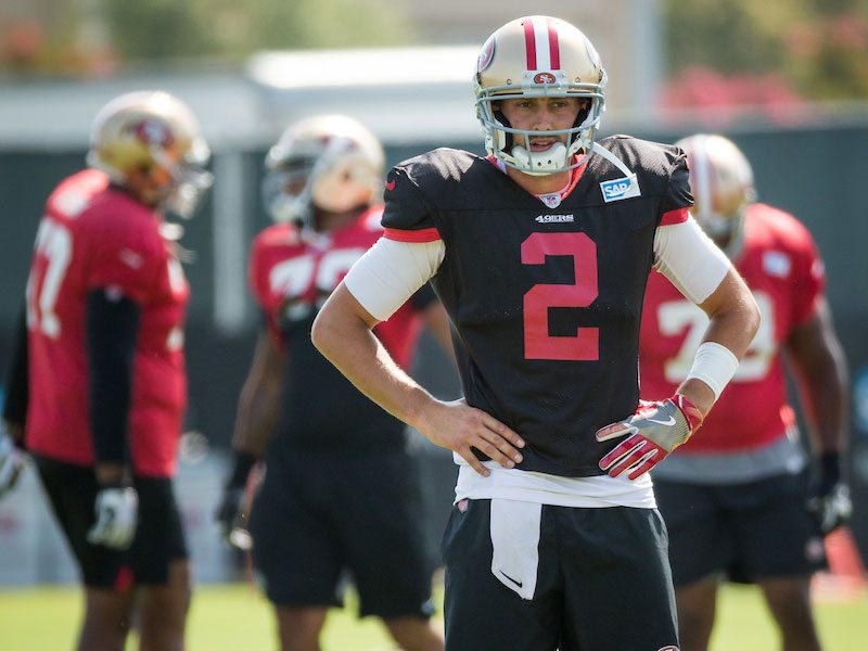 The 49ers' lackluster roster will make it hard to feel good about the team's chances at competing in the playoffs. (Stan Olszewski/Special to S.F. Examiner)