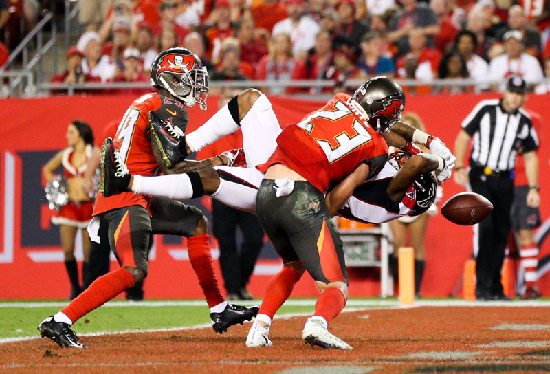 The Bucs lost to the Falcons by a last-second field goal last week. Here's hoping they can keep another divisional game close. (Loren Elliot/Tampa Bay Times/TNS)