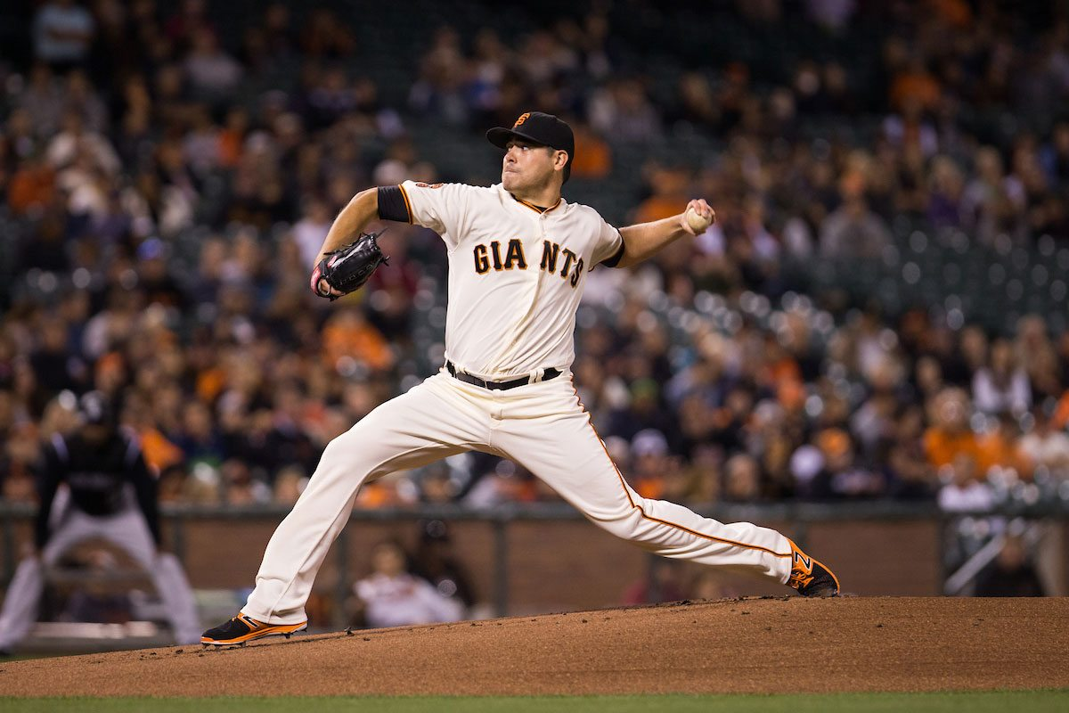 Matt Moore was dominant over 7.2 innings on Tuesday. (Stan Olszewski/Special to S.F. Examiner)