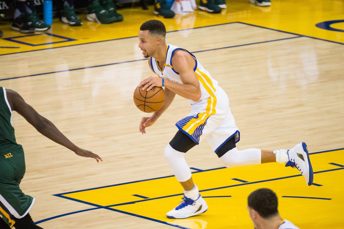 The Warriors built themselves up by drafting well — like picking Stephen Curry — which led to Golden State becoming a free-agent destination. The Nets tried to force it all at once and it backfired. (Stan Olszewski/Special to S.F. Examiner)