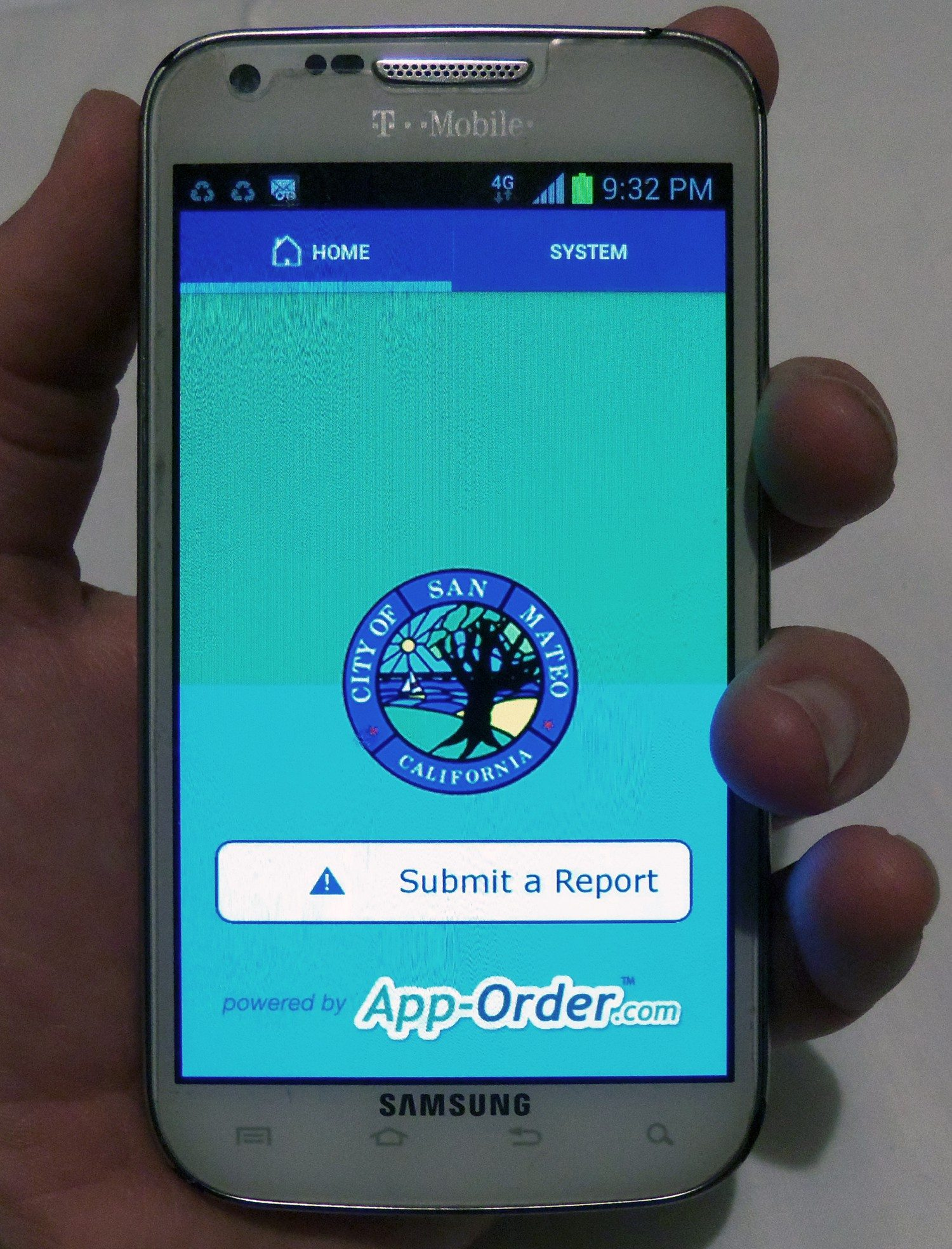 Brendan P. Bartholomew/Special to the S.f. ExaminerIssues reported through the mySanMateo app are resolved within days