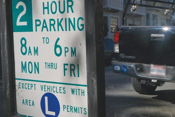 S.F. Examiner File PhotoBlock parties: Under the residential parking program