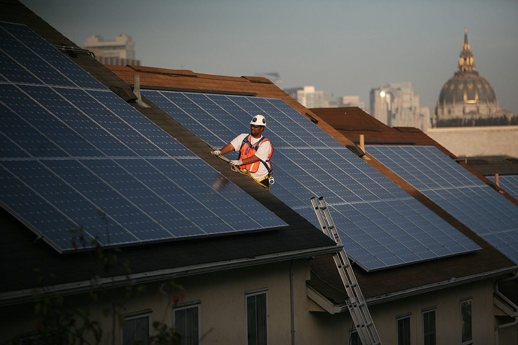 "The IBEW measure would have prohibited The City from calling energy ""green"" or ""clean"" that wasn't in only one of three energy categories which qualify as renewable energy under state law. Cindy Chew/S.F. Examiner"