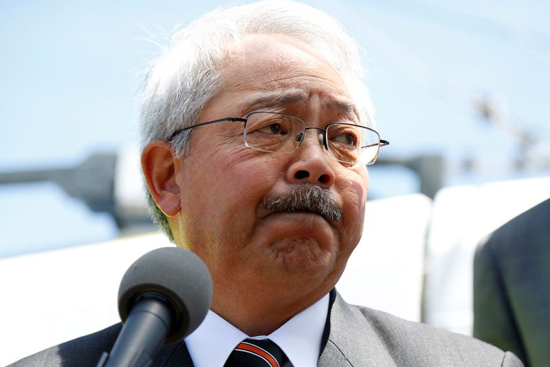An effort to recall Mayor Ed Lee is underway, but Lee has plenty of backing in his corner. (Emma Chiang/Special to S.F. Examiner)