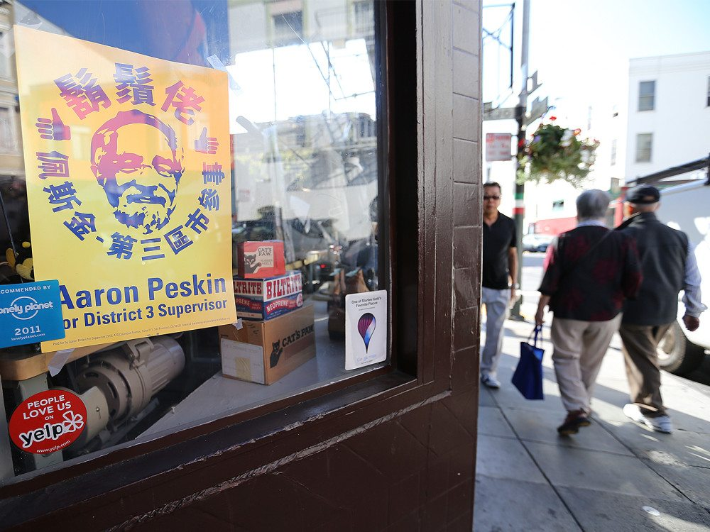 Allegations of voter fraud in Chinatown are adding fuel to the fire in the race for District 3 Supervisor. (Mike Koozmin/S.F. Examiner)