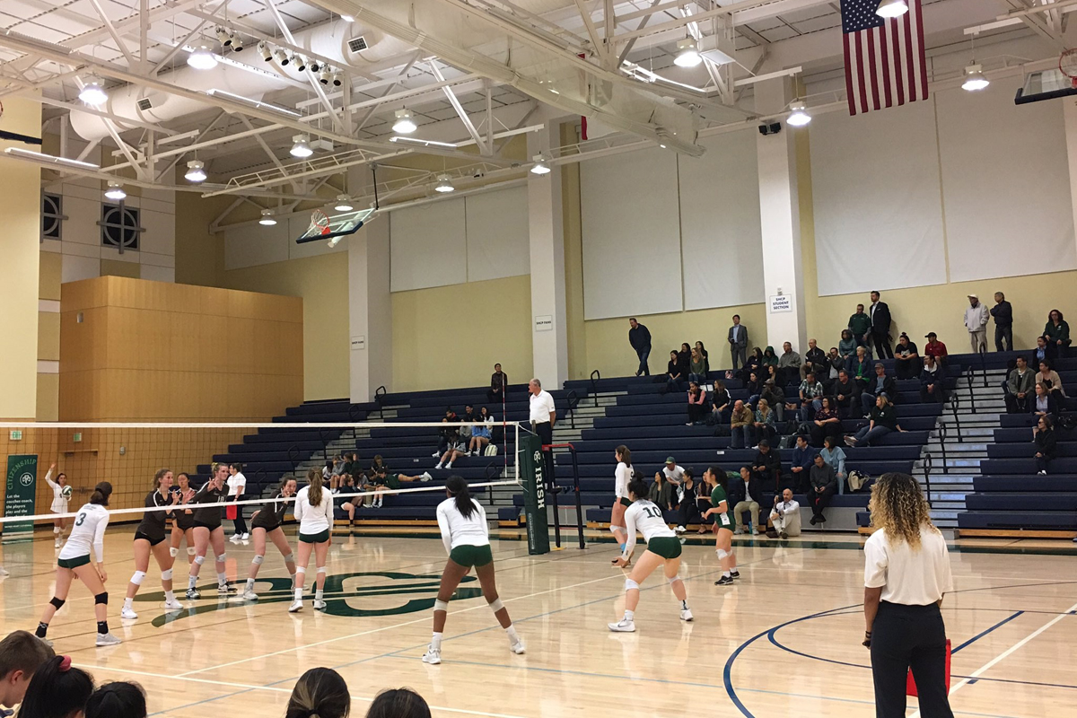 Sacred Heart Cathedral girls volleyball will have a bye to open next week's WCAL Tournament. They will likely also be a top seed in the CCS Open Division. (Courtesy: SHC Athletics)