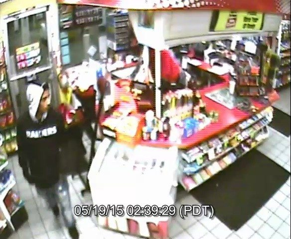 Footage: Gunman chases clerk from SoMa gas station, opens fire