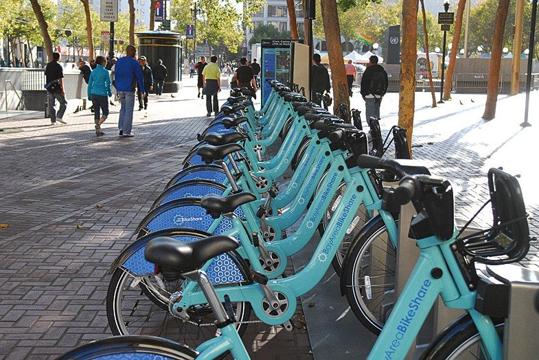 EVAN DUCHARME/S.F. Examiner File PhotoBay Area Bike Share's proposed expansion to more than 7