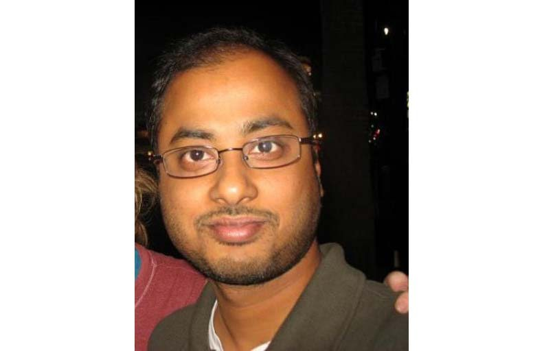 This undated photo shows Mainak Sarkar, who police say carried out a murder-suicide at UCLA on Wednesday. (Facebook via AP)