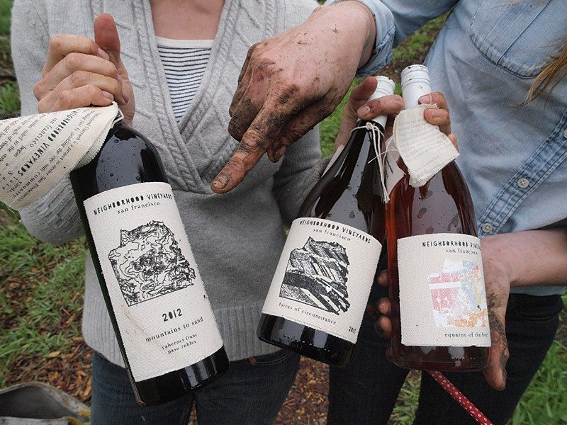 SF viticulturists take urban winemaking to new level by growing grapes in the city