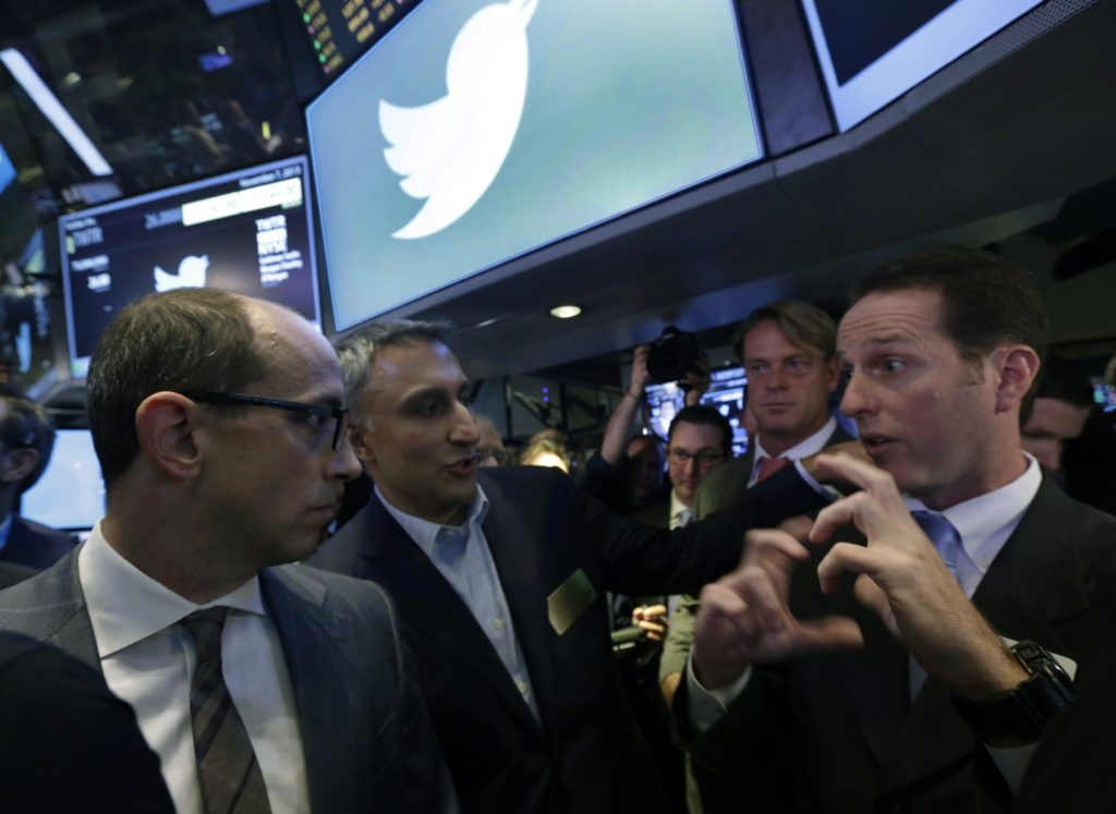 AP Photo/Richard DrewTwitter CEO Dick Costolo
