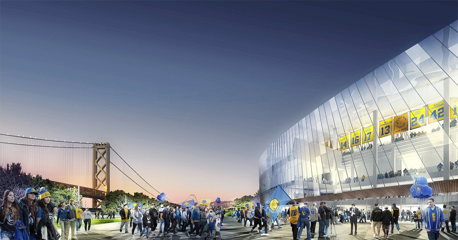 courtesy RenderingThe cost of the fixing Piers 30-32 for Warriors' planned arena has increased from $100 million to an expected $170 million. The City will be on the hook for reimbursing the team.
