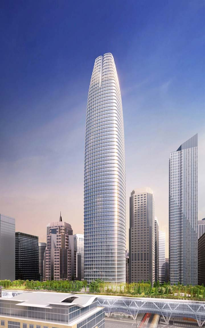 Courtesy renderingThe Transbay Tower is expected to be completed in 2017.