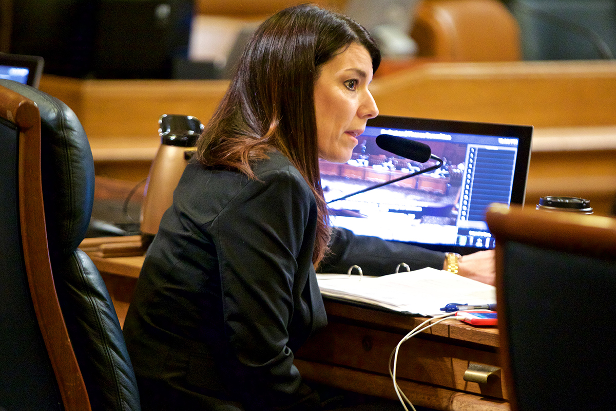 Supervisor Catherine Stefani called a hearing to discuss the city's mental health services for the homeless. (Kevin N. Hume/2018 S.F. Examiner)