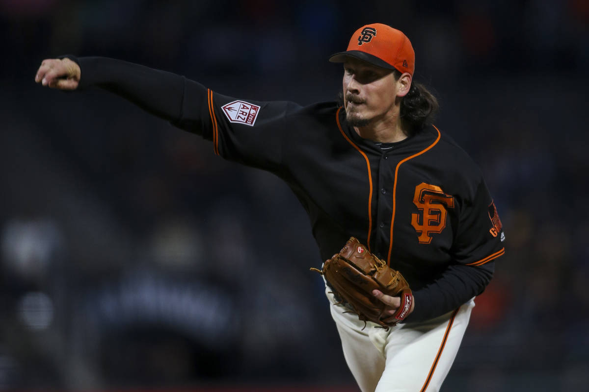 Samardzija struggles against Nationals, Giants can't come back