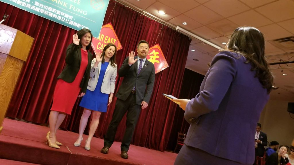 Making 'Auntie Rose' proud: Breed swears-in Chinese commissioners