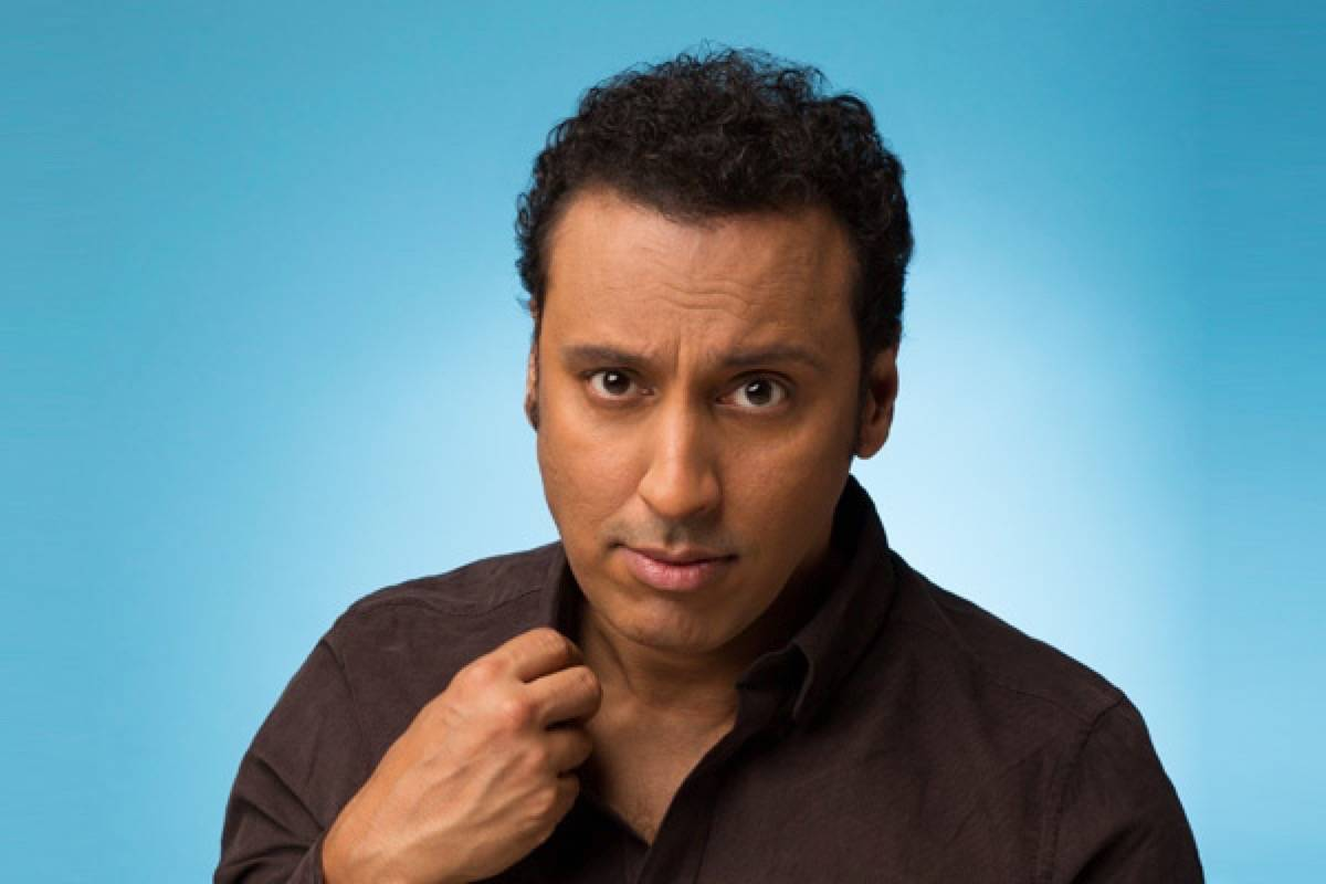 Aasif Mandvi's first show business jobs were in theater and television. (Courtesy photo)