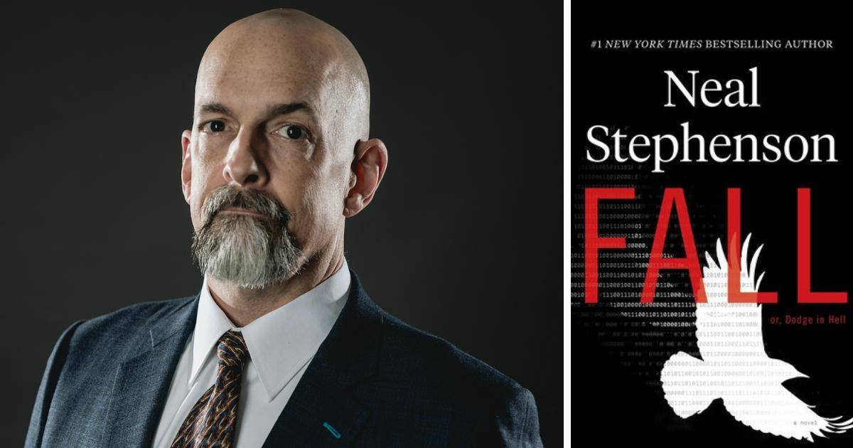 """Neal Stephenson discusses his new book """"Fall"""" in The City. (Author photo courtesy Brady Hall)"""
