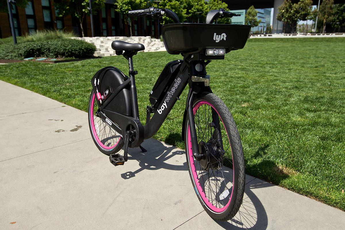 Bay Wheels bikes are the subject of lawsuits involving the San Francisco Municipal Transportation Agency and Lyft. (Kevin N. Hume/S.F. Examiner)