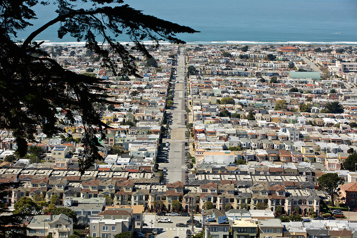 San Francisco's efforts to develop affordable housing in recent years have largely neglected the outer neighborhoods such as the Sunset District. (Kevin N. Hume/S.F. Examiner)