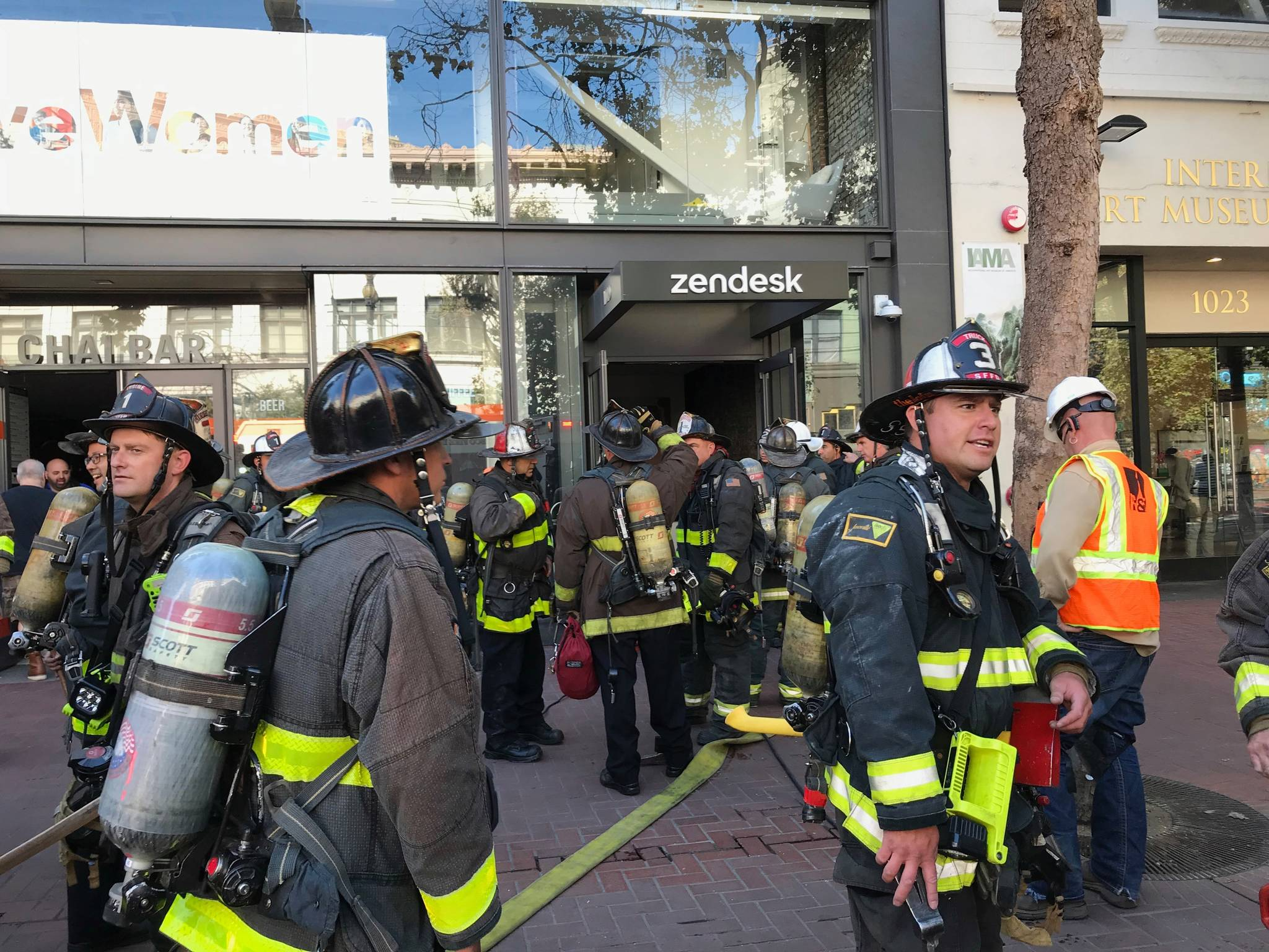 Zendesk building evacuated due to electrical fire