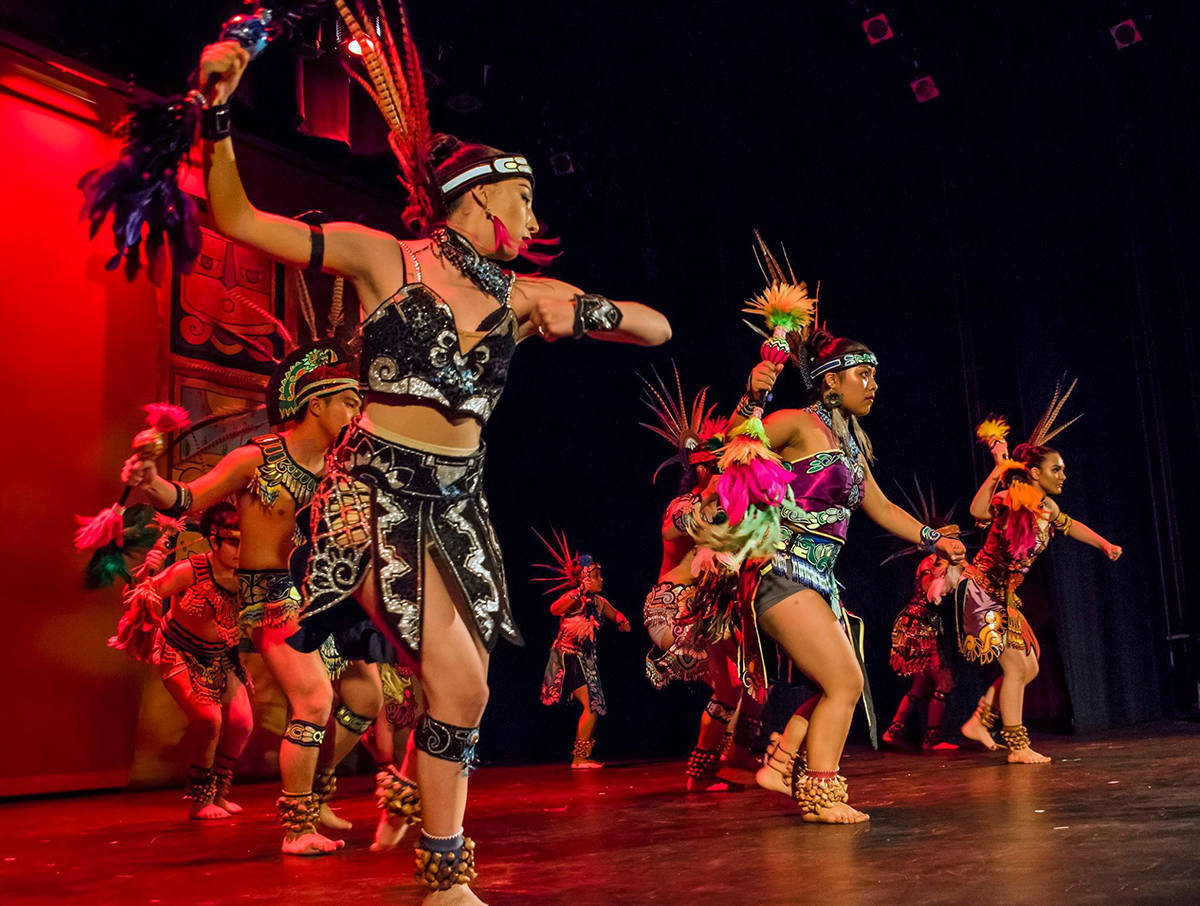 Rontunda Dance Series at City Hall hosts Cuicacalli Dance Company on Sept. 6. (Courtesy photo)