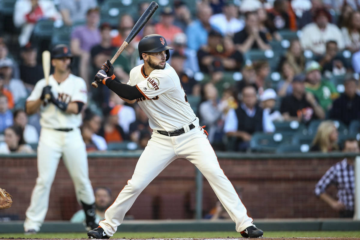 Giants not capitulating with flurry of moves, calling up Dubon