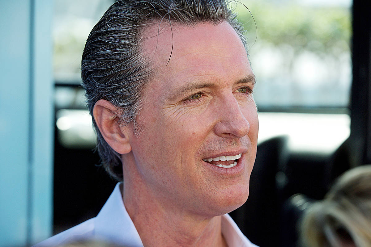 Gov. Gavin Newsom signed legislation capping rent increases in Oakland on Tuesday. (Kevin N. Hume/S.F. Examiner)