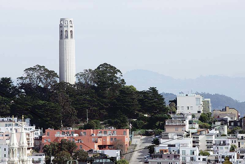 San Francisco's Coit Tower. (S.F. Examiner file photo)