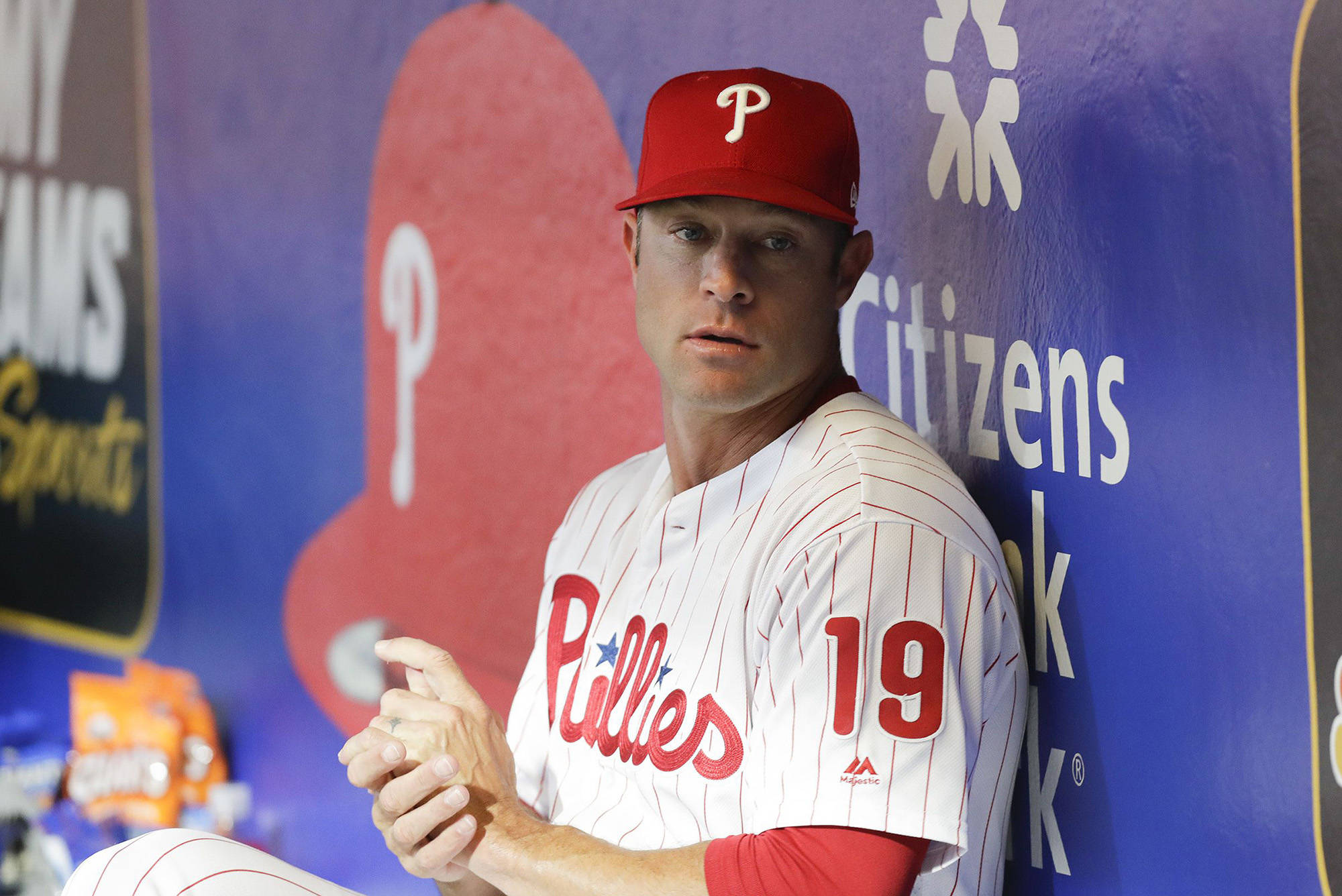 Philadelphia Phillies manager Gabe Kapler before the Phillies played the Miami Marlins on Sept. 27, 2019. (Yong Kim/The Philadelphia Inquirer/TNS)
